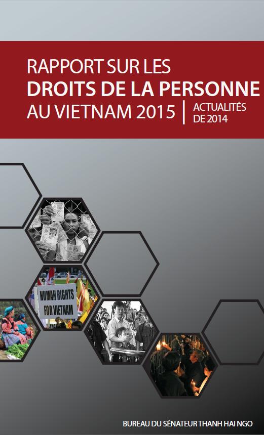 Rapport Sur Les Droits De La Personne Au Vietnam 2014-2015